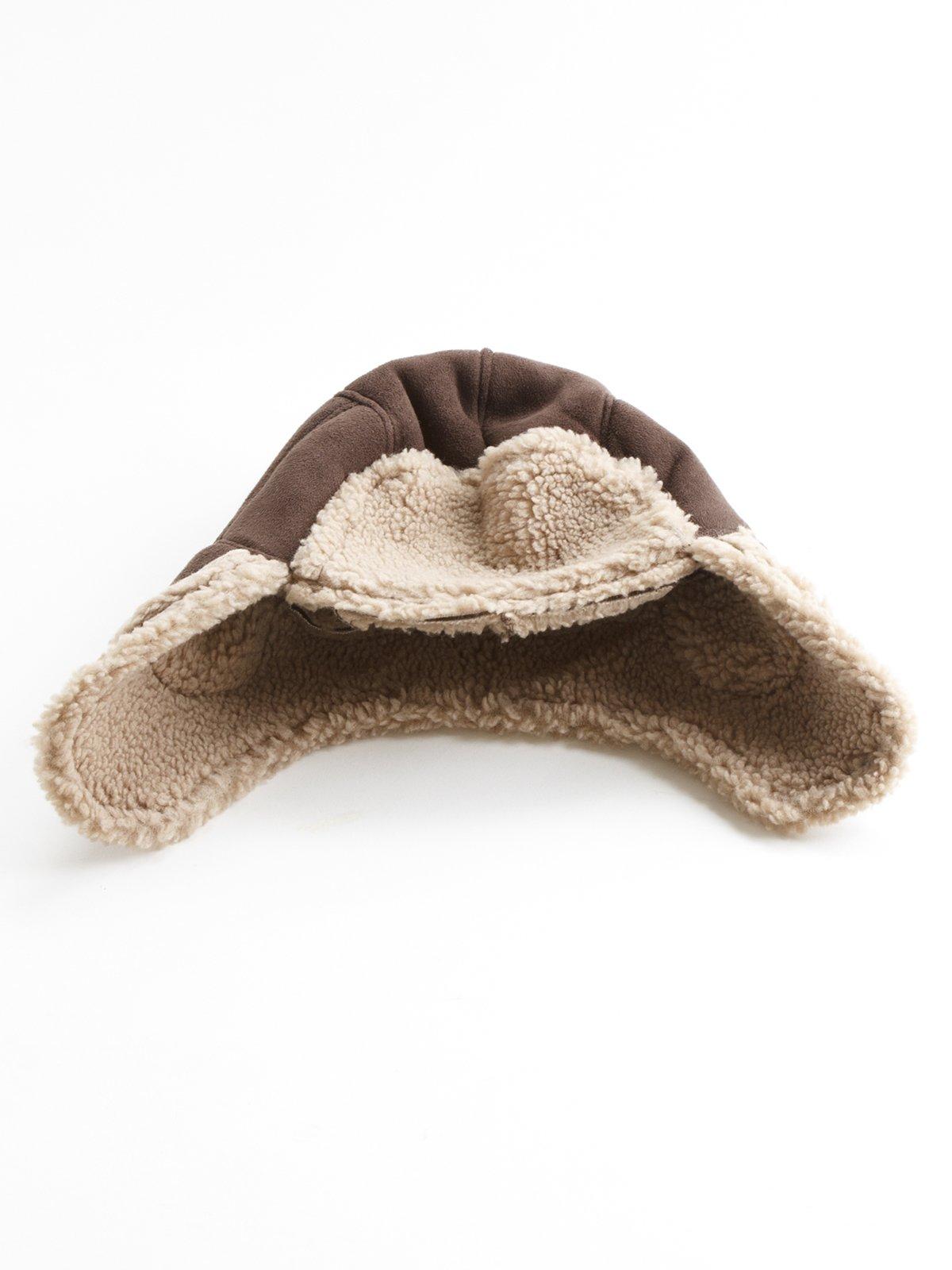 Шапка-ушанка коричневая | 178551