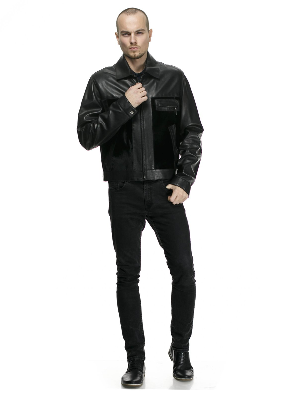 Куртка чорна   750494   фото 3