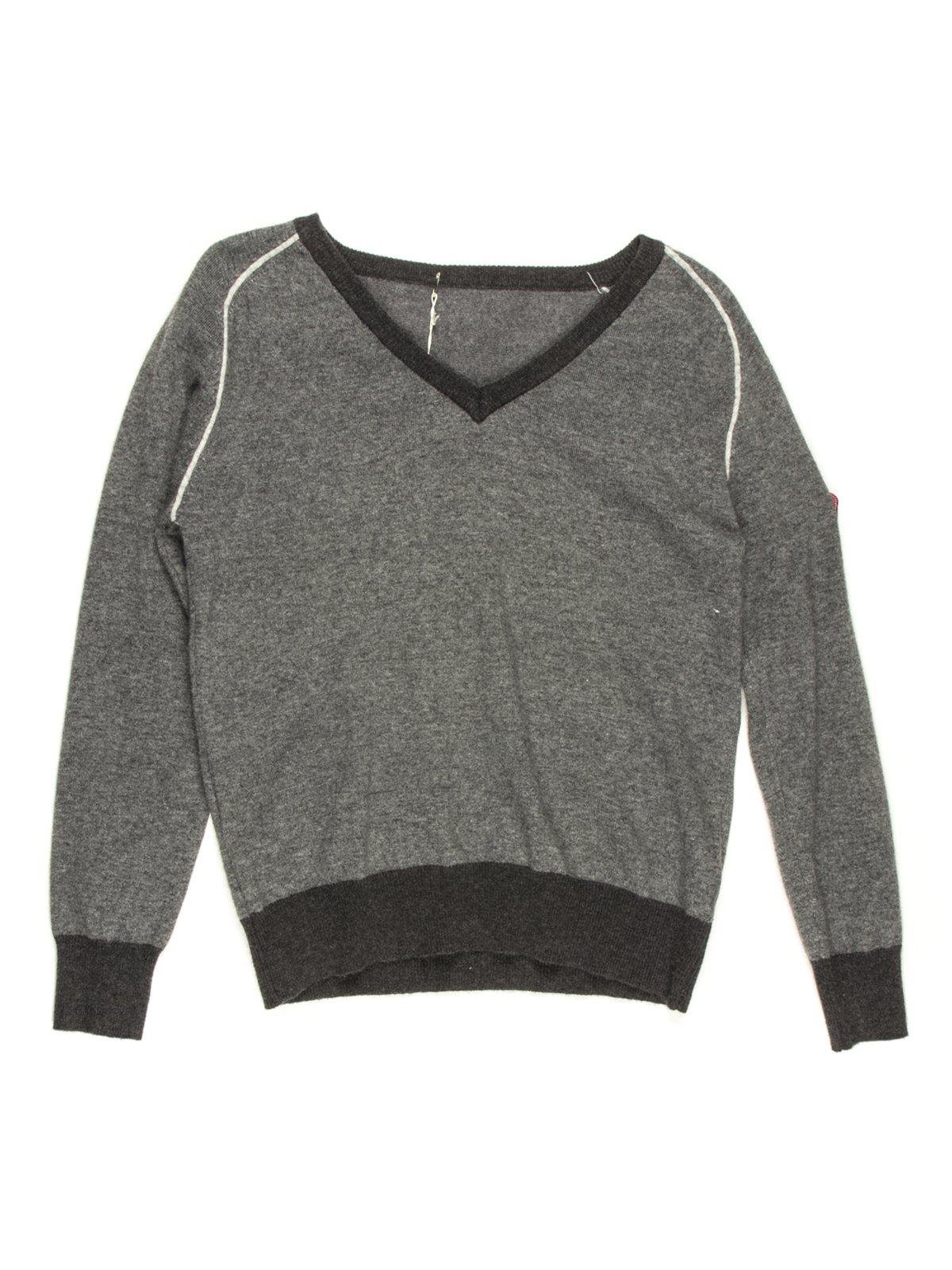 Пуловер сірий | 681055