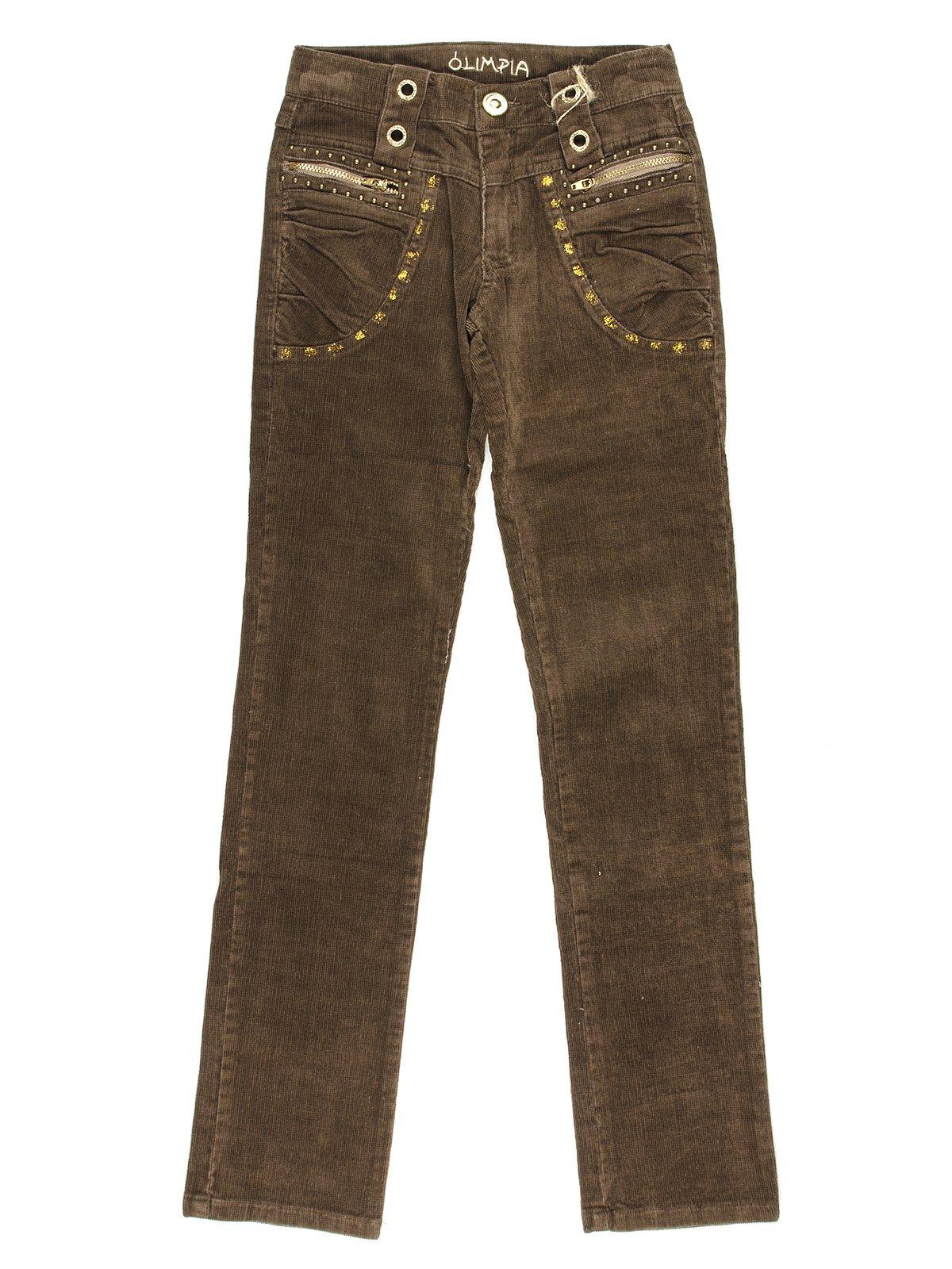 Штани коричневі | 649112