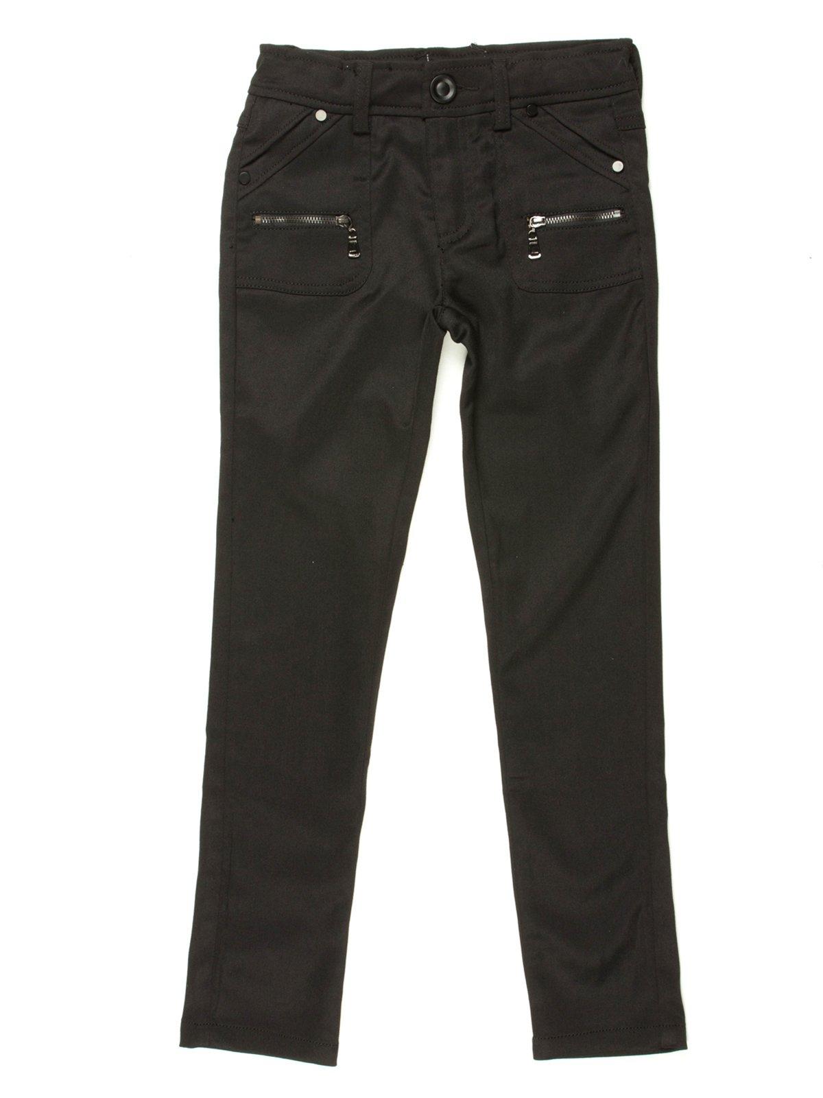 Брюки черные с карманами | 514014
