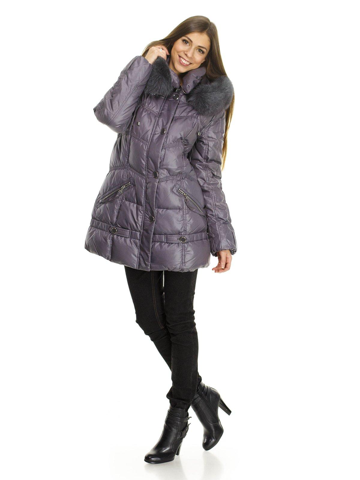 Пальто темно-сіре | 734828