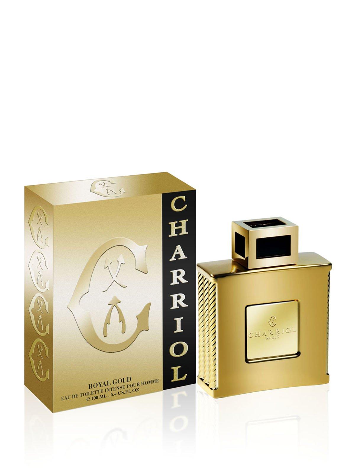 парфюмированная вода Royal Gold 100 мл Charriol акция действует