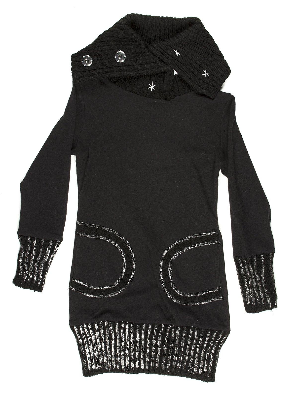 Сукня чорна тепла | 649187