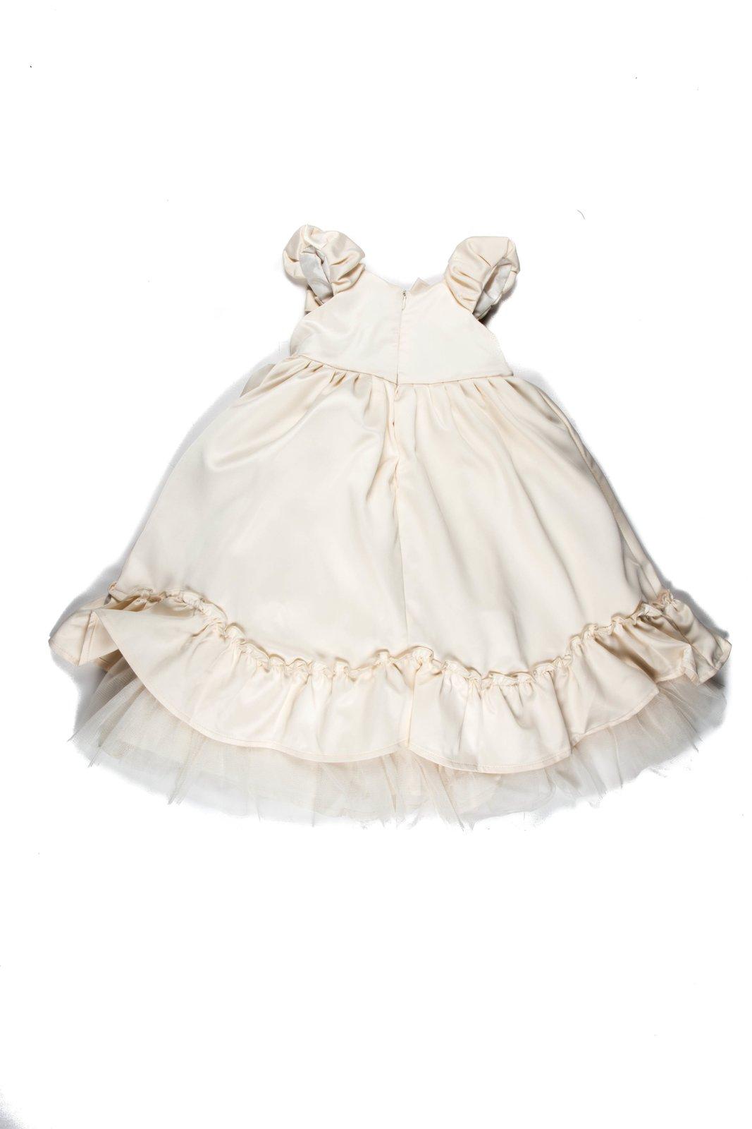 Сукня молочного кольору | 755081