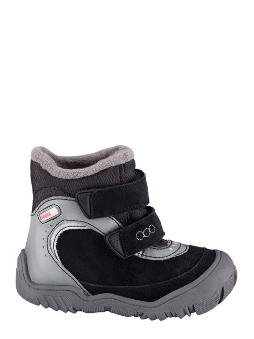 Ботинки черно-серые | 691611