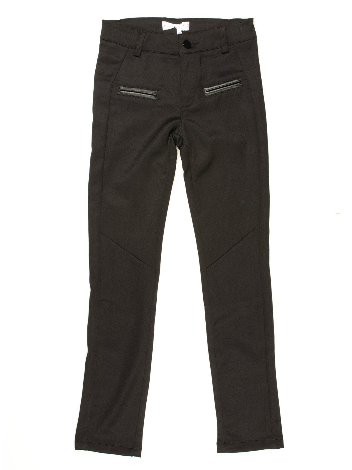 Брюки черные с карманами | 514111