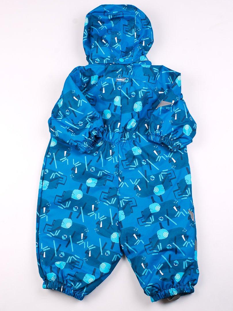 Комбінезон синій в принт   61451   фото 3