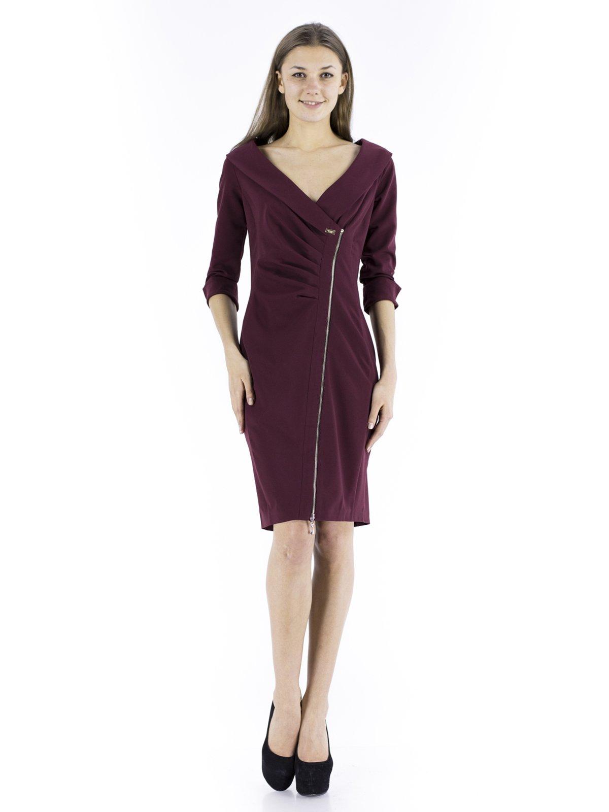 Сукня бордова | 234802