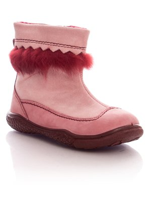 Ботинки розовые на молнии | 34852