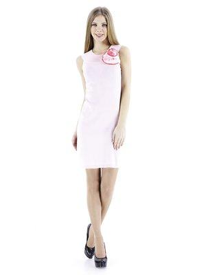 Платье светло-розовое с цветком | 56922