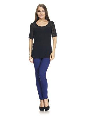 Блуза чорна | 887627