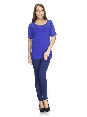 Блуза ярко-синяя | 887628