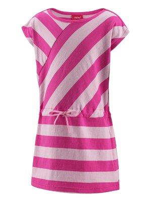 Платье двухцветное в полоску | 402060