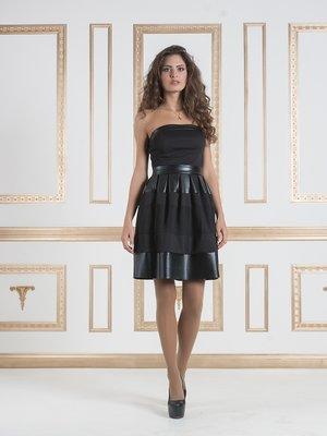 Сукня-бюстьє чорна | 932593
