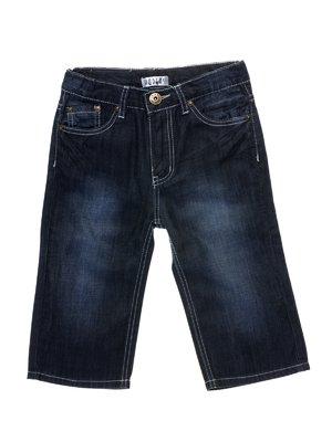 Шорти темно-сині джинсові | 933707