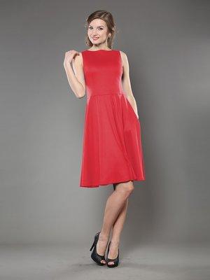 Сукня А-силуету червона | 944631