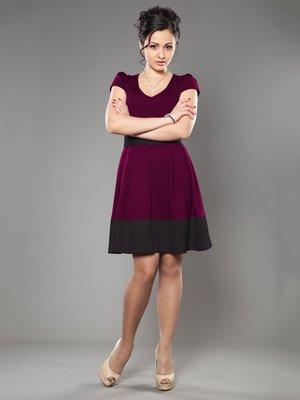 Сукня чорно-сливового кольору | 953384