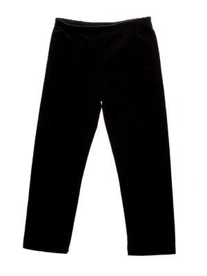 Леггинсы черные с контрастными бантиками | 958976