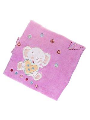 Плед двойной велюровый с вышивкой | 1001744