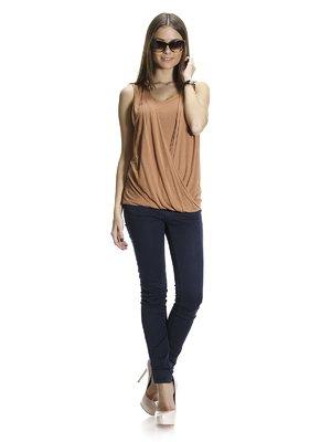 Блуза светло-коричневая   1015551