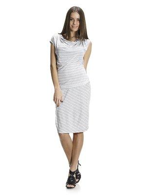 Сукня сіра в смужку | 1015545