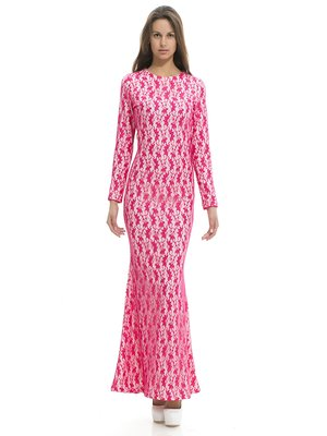 Сукня двоколірна в малюнок | 1029339