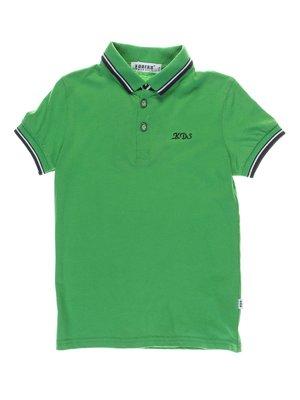 Футболка-поло зелена | 1039156