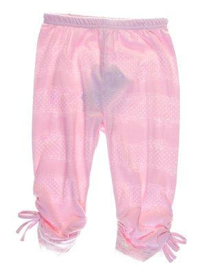 Легінси рожеві з зав'язками | 1039089