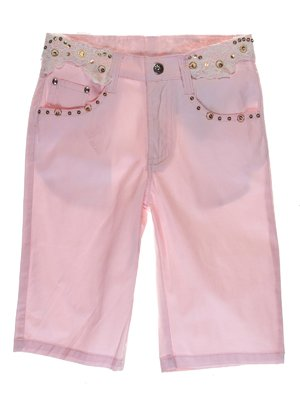 Шорти рожеві декоровані | 1051111