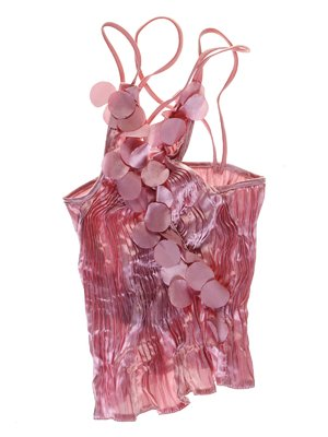 Топ рожевий декорований | 1051343