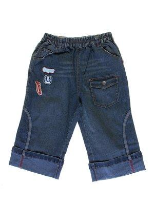 Капрі сині джинсові | 1076789
