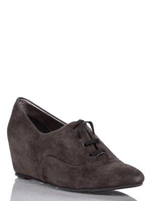Туфлі темно-сірі | 1077687