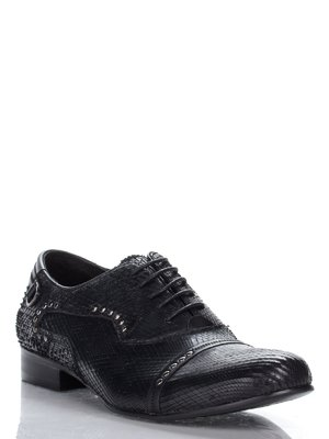 Туфли черные с декором   1077645