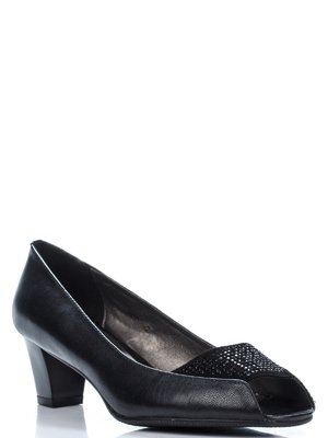 Туфлі чорні з декором | 1209729