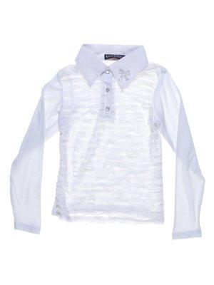 Блуза біла з декором   1236753