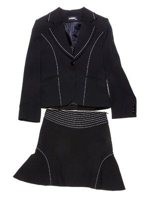 Костюм: жакет, брюки і спідниця | 1236830