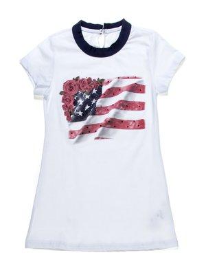 Туніка біла з американською символікою   1263410