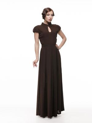 Сукня коричнева | 1316140