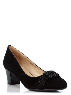 Туфли черные с декором | 1322975