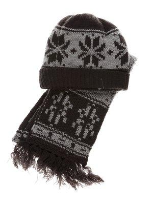 Комплект: шапка і шарф | 1342497
