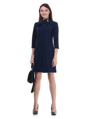 Платье темно-синее | 1345097