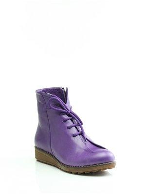 Ботинки сиреневые | 1364580