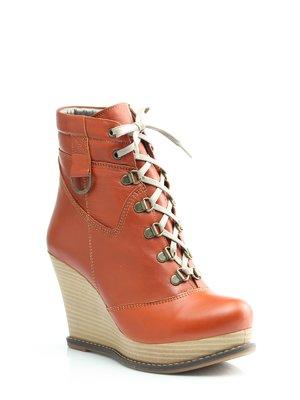 Ботинки рыжего цвета | 1364581
