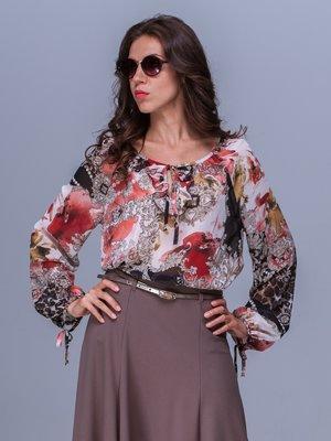 Блуза абстрактного забарвлення | 1366174