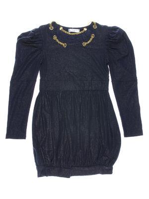 Платье темно-синее | 712456