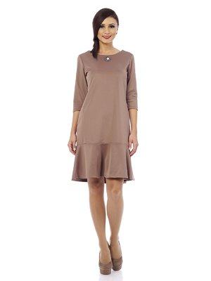 Платье бежевое   1373258