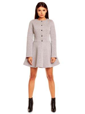 Пальто серое | 1395564