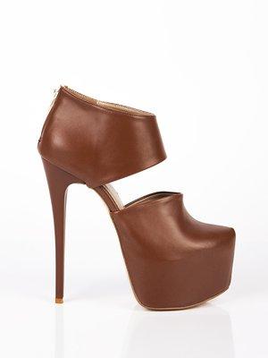 Туфли коричневые | 1402164
