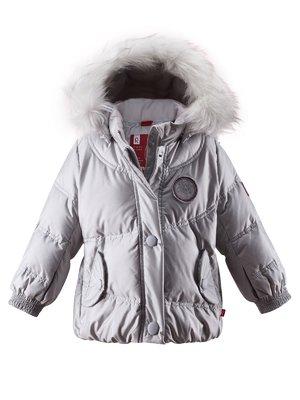 Куртка світло-сіра | 1422359